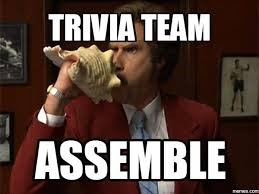 Trivia team assemble