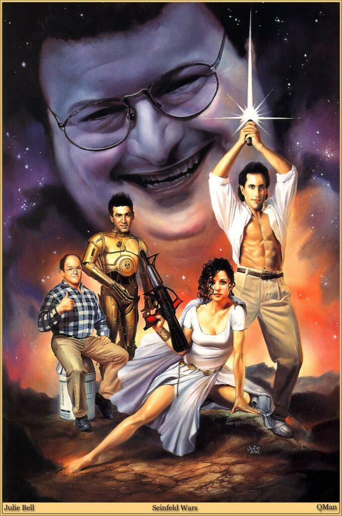 Seinfeld Star Wars Poster