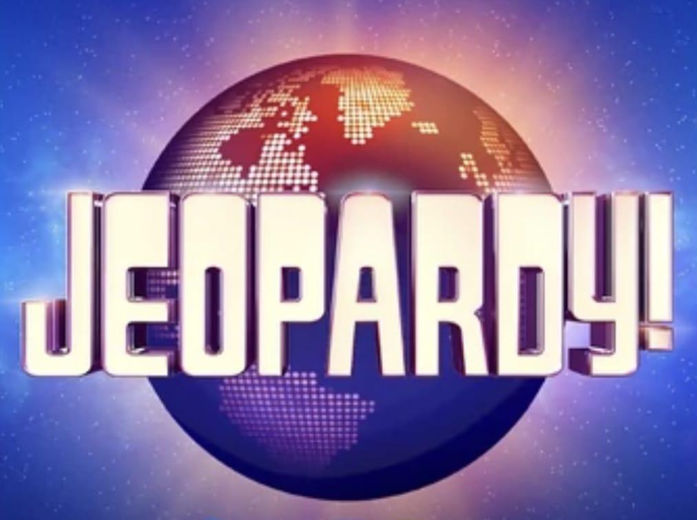 Jeopardy! TV show title screen logo