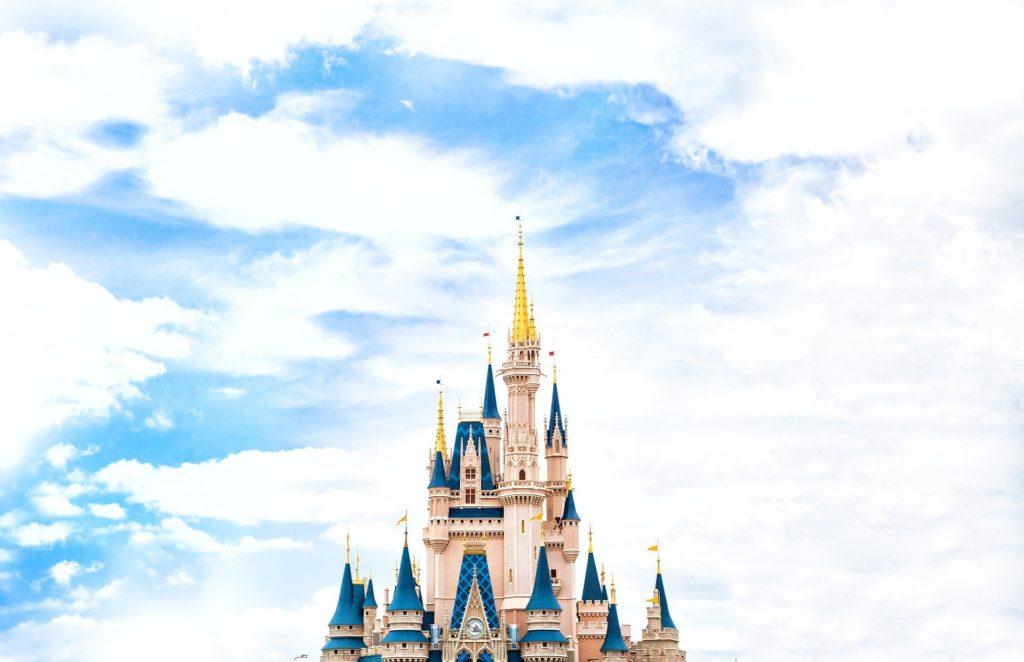 Cinderella's Castle in Disney World.