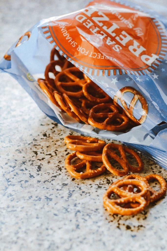 Bag of pretzels