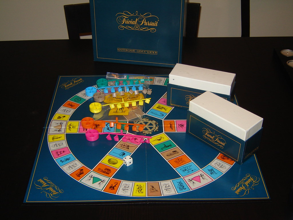Trivial Pursuit Genus Edition Board Game