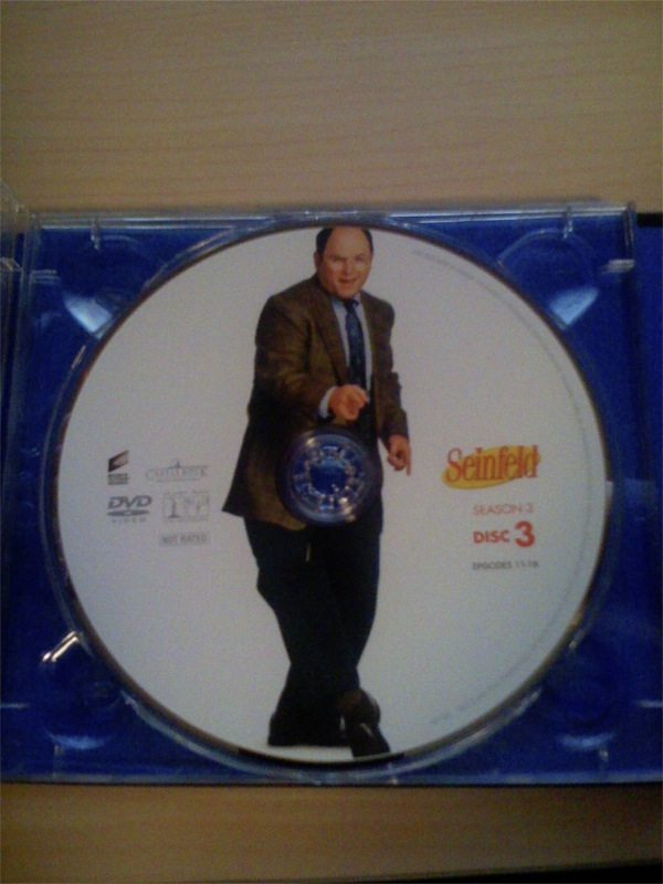 Seinfeld Season 3 DVD, Disc 3
