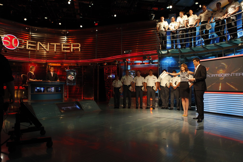 West Point Military appearing on ESPN's SportsCenter