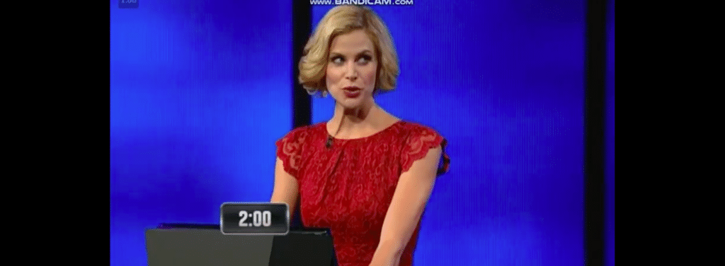 Female host of USA game show The Chase