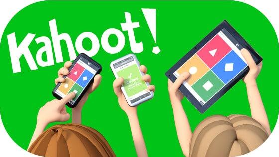 Kahoot! logo illustration.