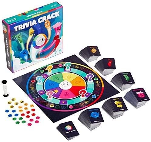Trivia Crack Board Game and pieces (Amazon.ca)
