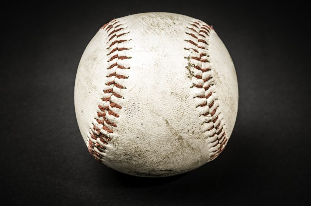 Vintage baseball.