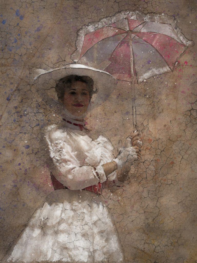 Mary Poppins portrait from Disneyland Paris.