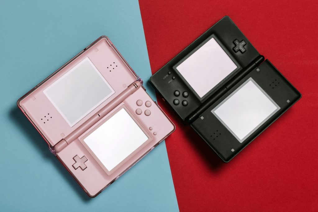 Two Nintendo DS Consoles