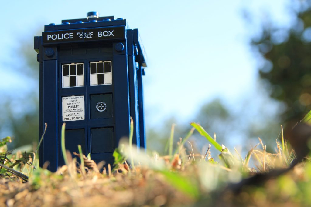 Toy Tardis from Doctor Who