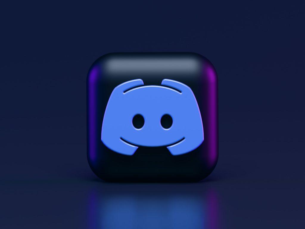 Discord 3d Icon Concept. Dark Mode Style.