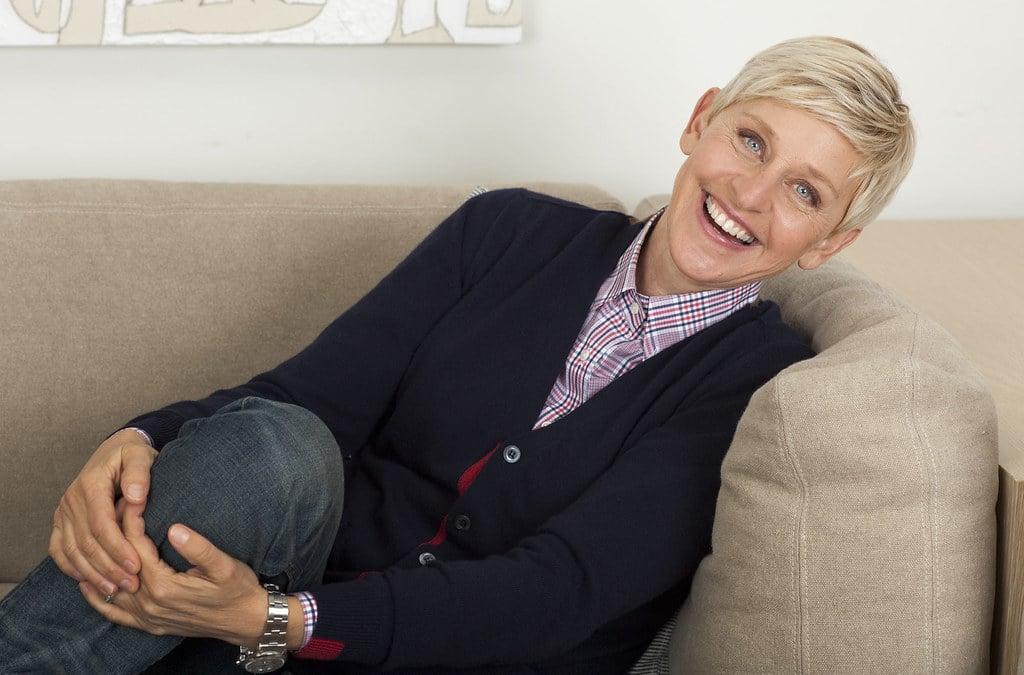 TV celebrity Ellen DeGeneres
