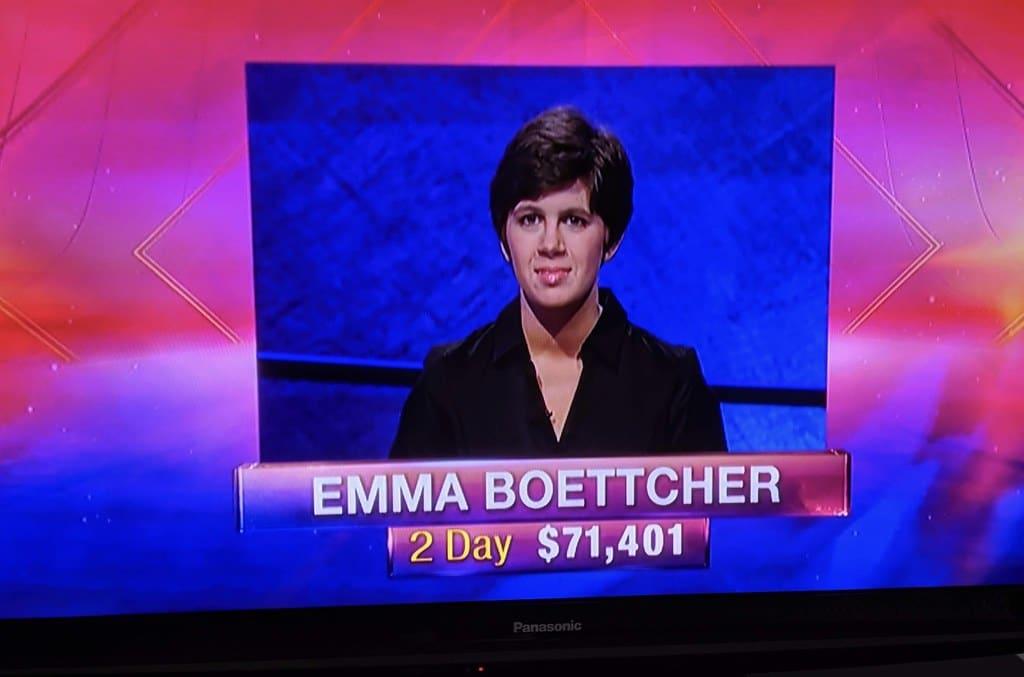 Jeopardy! winner Emma Boettcher