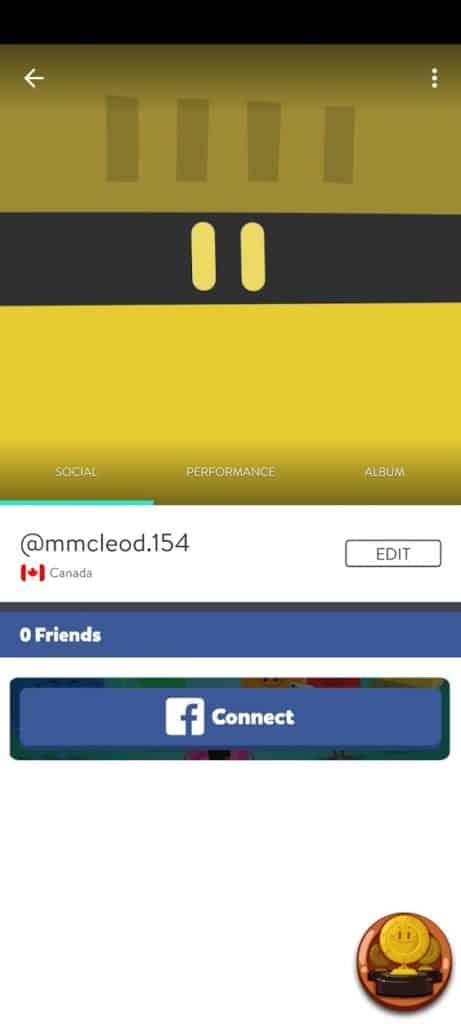 Fig 2. Screenshot taken by Megan McLeod from the app Trivia Crack, Etermax, 2021