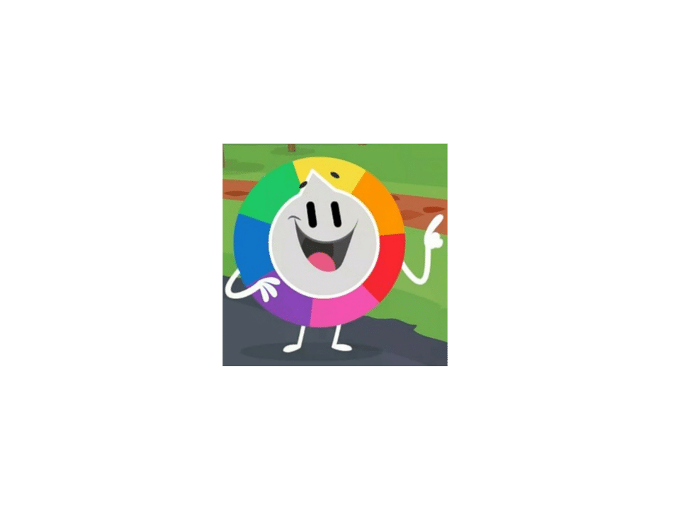 Trivia Crack character Willy, the well-known wheel.