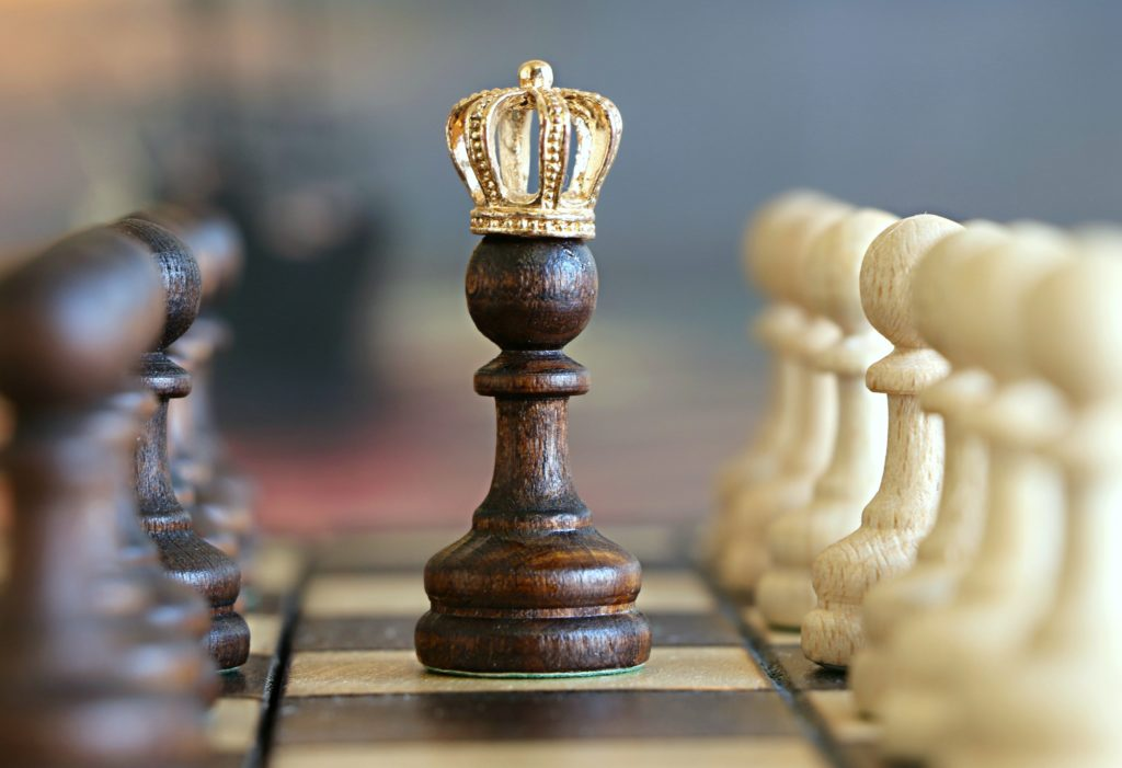 Queen pawn in chess